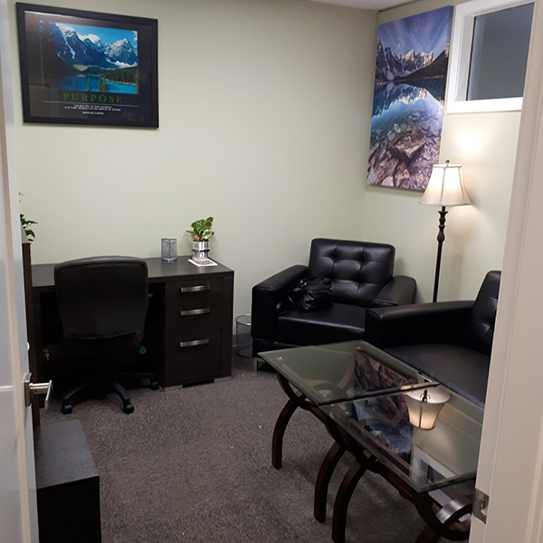 Shawn's Kamloops Therapy Office
